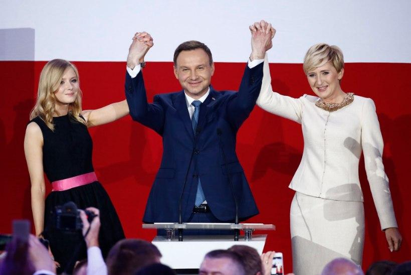 Poola uueks presidendiks saab mõõdukas euroskeptik Duda
