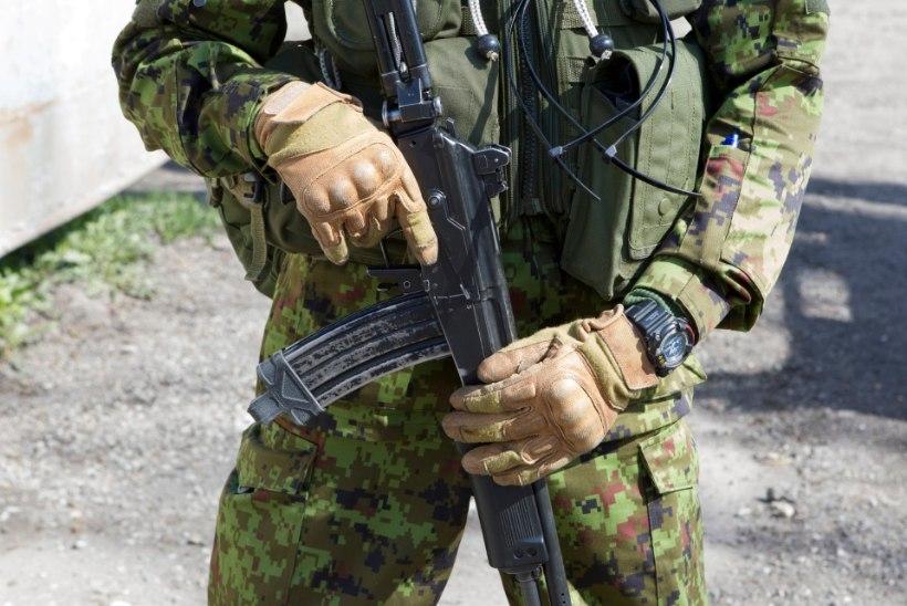 Eriväelased harjutasid kaitseliitlastega tavatu sõja pidamist