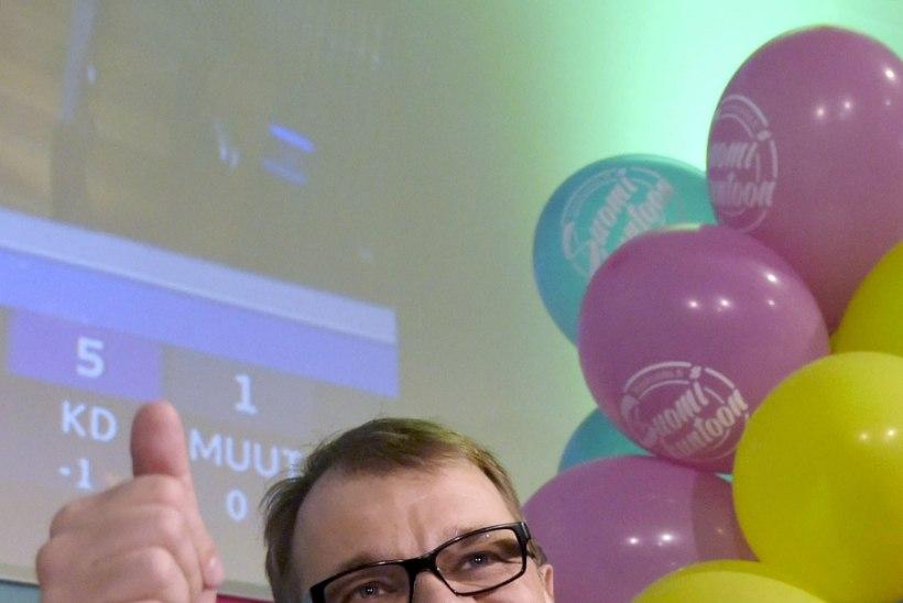 Juha Sipilä tutvustas uut Soome valitsust