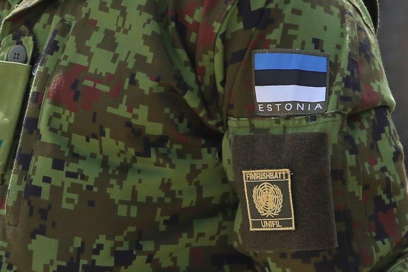 Liibanonis heisati Eesti lipp