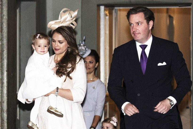 Printsess Madeleine kolib pärast sünnitust taas välismaale