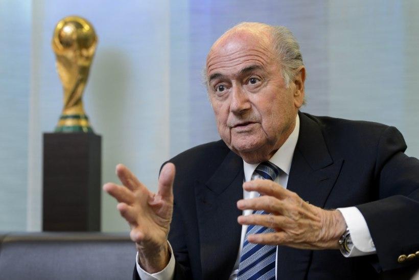 FBI ja Šveitsi võimud jahivad vuti-bosse, aga Blatter valitakse tagasi