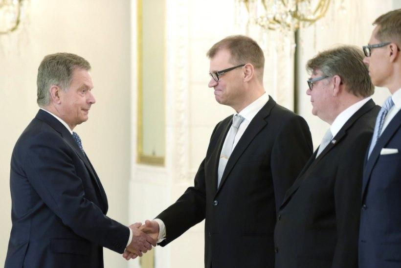 Sauli Niinistö nimetas Soome uue valitsuse ametisse