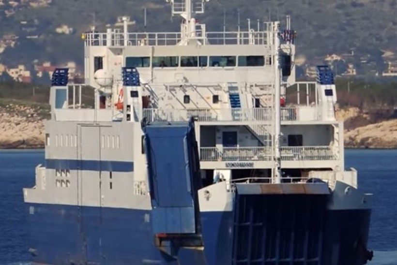 Saaremaa Laevakompanii rendiparvlaev Ionas saabus Virtsu sadamasse