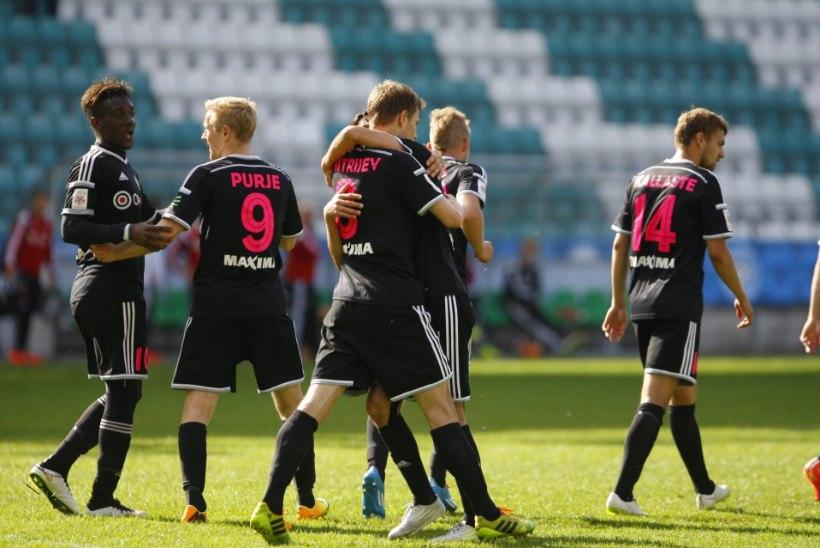 Nõmme Kalju võitis klubi ajaloo esimese Eesti karika, eurosarjakoha ja 200 000 eurot