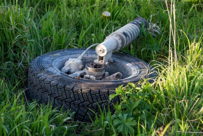 ÕHTULEHE VIDEO JA GALERII | Traagiline õnnetuspaik legendaarsel Matsimäe kiiruskatsel
