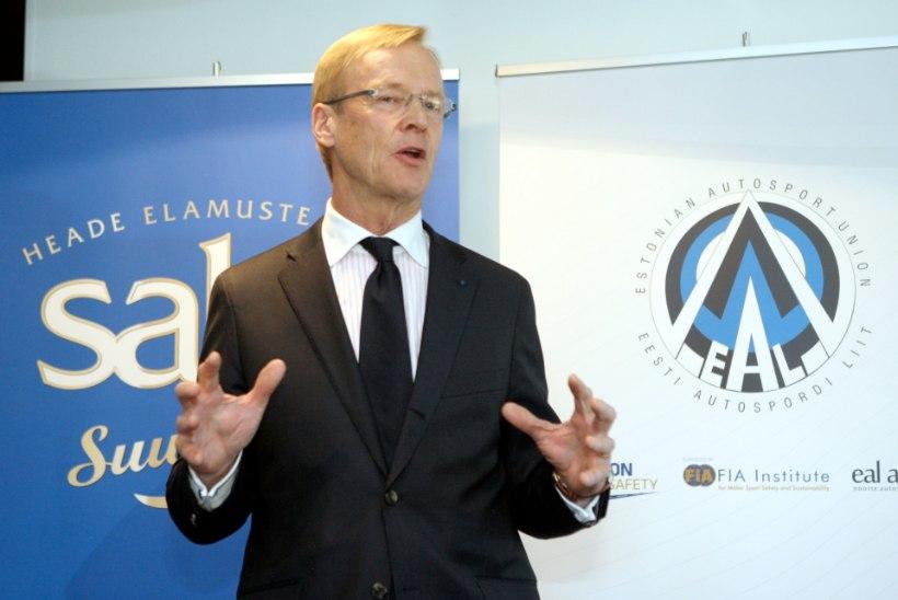 Autospordiliidu president Ari Vatanen: loodetavasti saame peagi teada selle õnnetuse täpsemad asjaolud