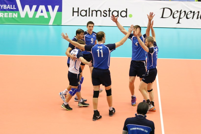 GALERII | Eesti võrkpalli triumf Halmstadis