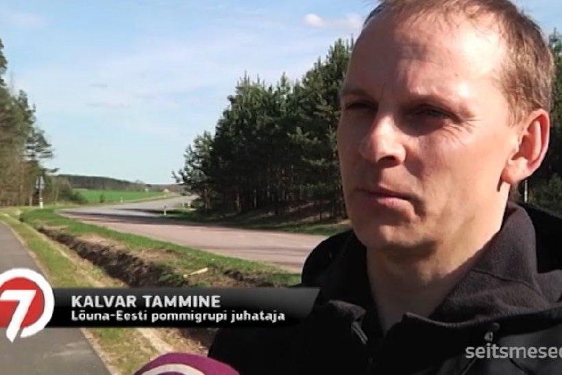 TV3 VIDEO | Valga kesklinna prügikastist leiti mürsk