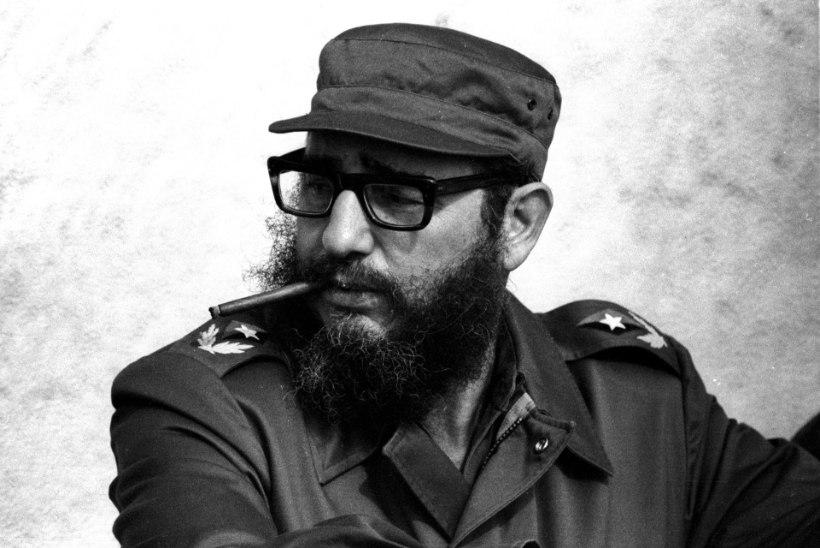 ENDINE IHUKAITSJA: Fidel Castro ajas narkoäri
