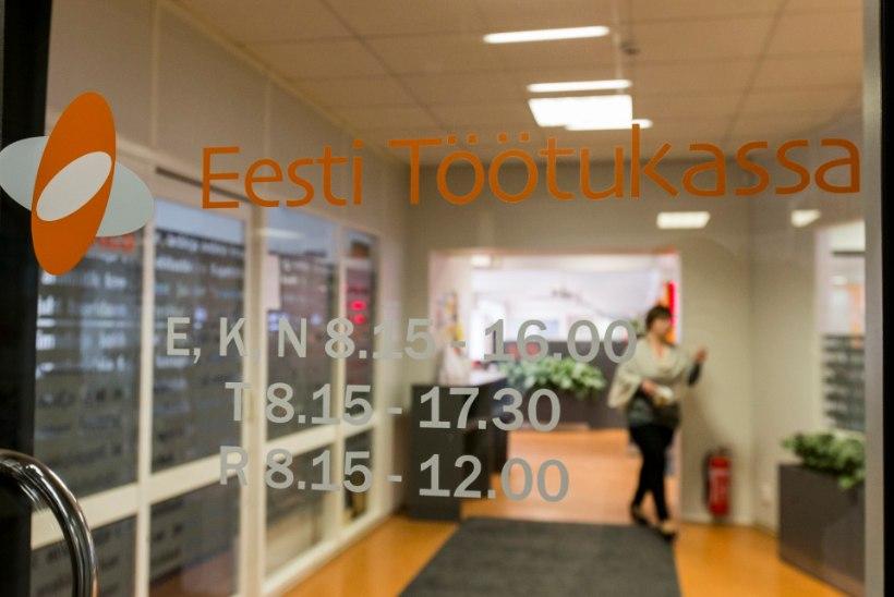 Töötukassa sajad miljonid eurod seisavad jõude
