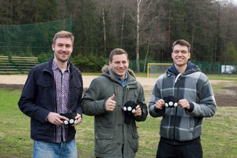 BC Kalev/Cramo korvpallur tõi koos sõpradega Eestisse moodsa treeninguvahendi