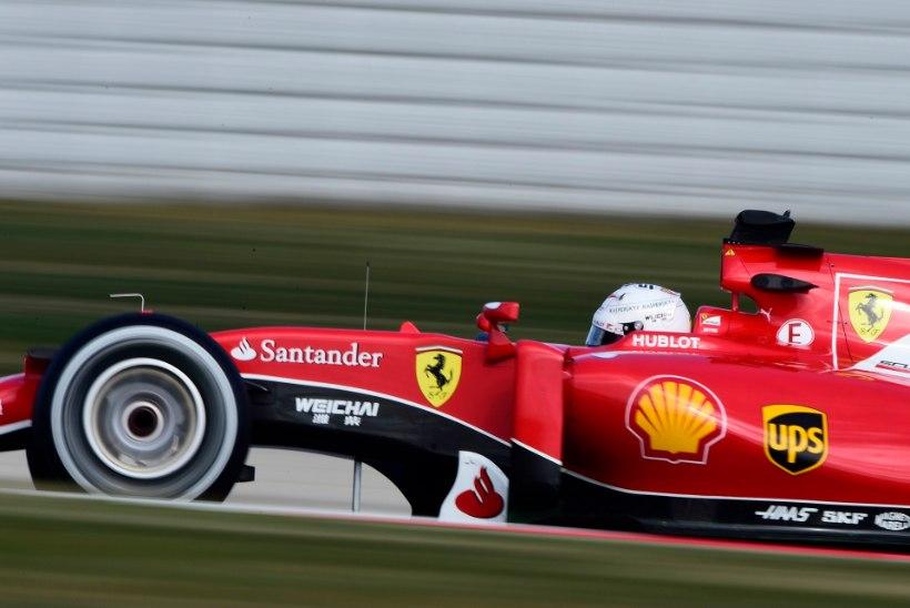 Ferrari on Barcelonas sama hästi kui uus