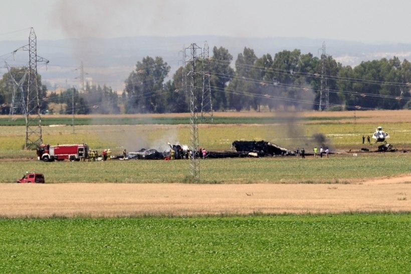 Hispaanias Sevilla lähedal kukkus alla sõjaväelennuk: hukkus neli inimest