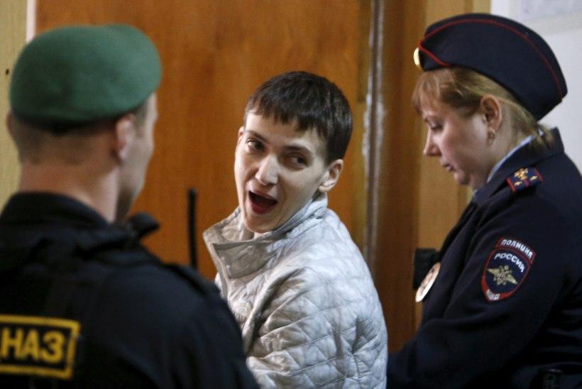 Nadia Savtšenko: tahan, et see kuradi kohus algaks kiiresti!