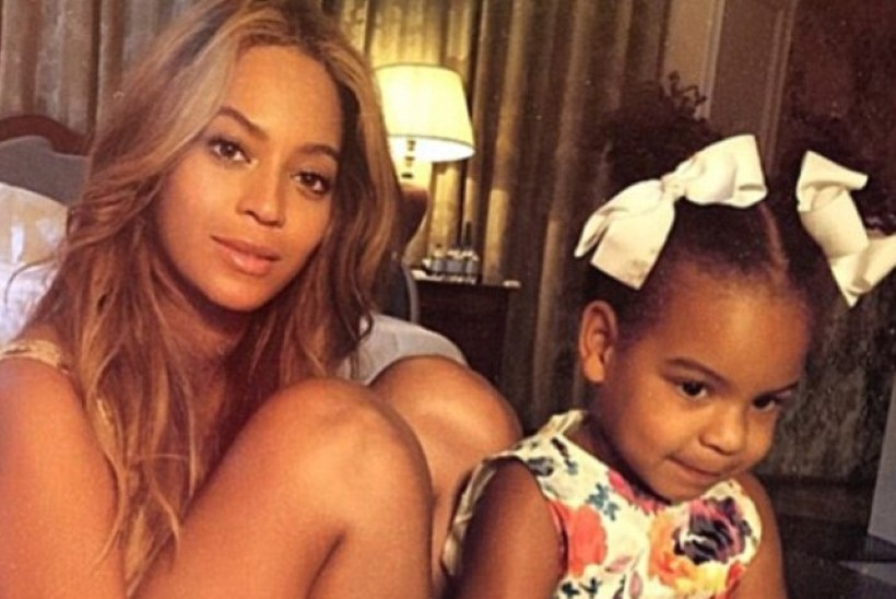 ILUS JA PEHME: Beyoncé poseeris koos tütrega