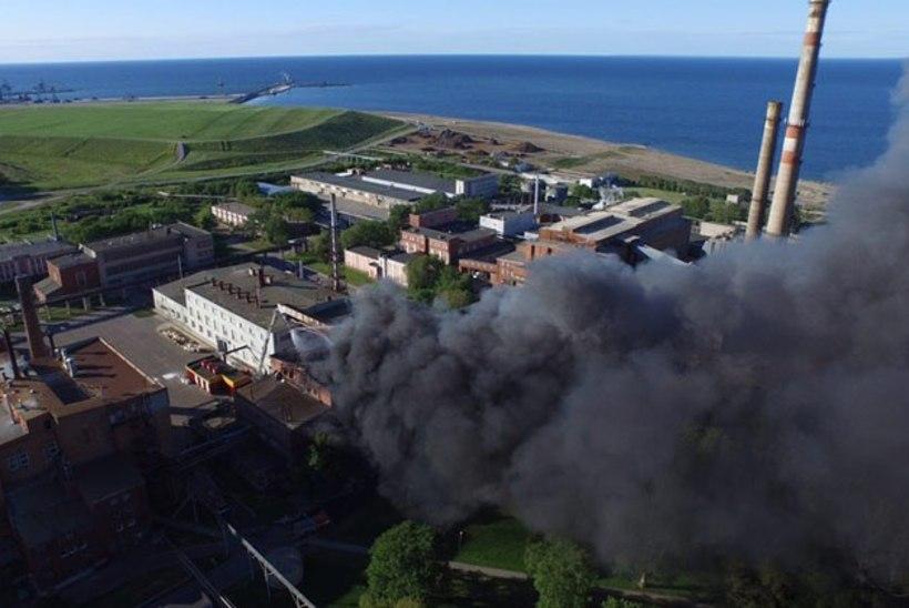 Keskkonnaamet: Silmeti tulekahjuga ei kaasne kiirgusohtu Sillamäe linna elanikele