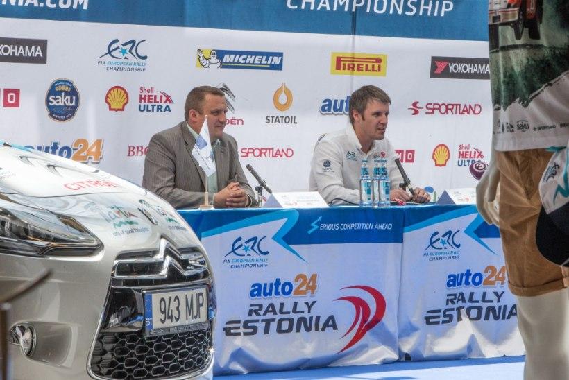 Rally Estonia direktor Urmo Aava: tahaks, et võidule sõidaks kümmekond ekipaaži