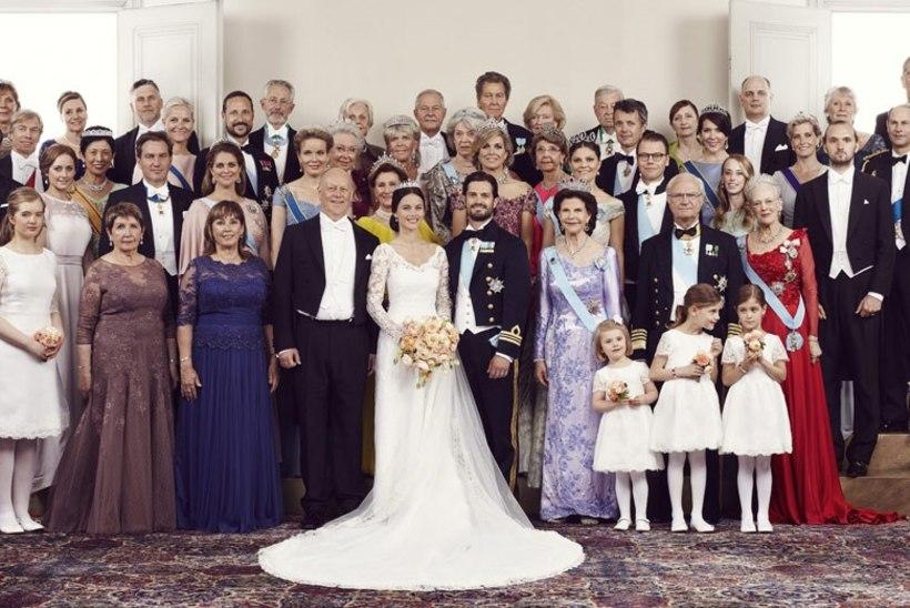 Sellised on kuningliku noorpaari ametlikud fotod!