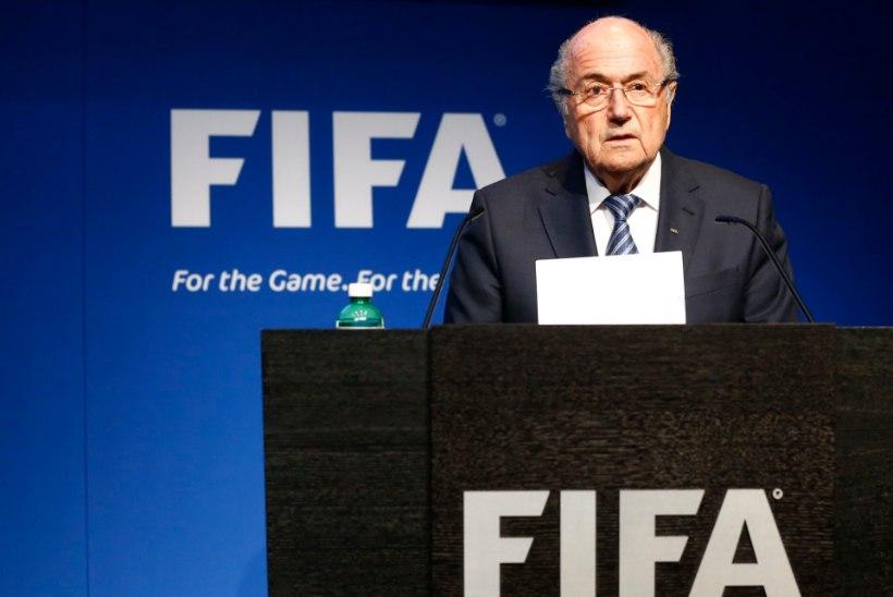 Aafriklased anuvad: Blatter, ära lahku! Šveitslane võib ümber mõelda