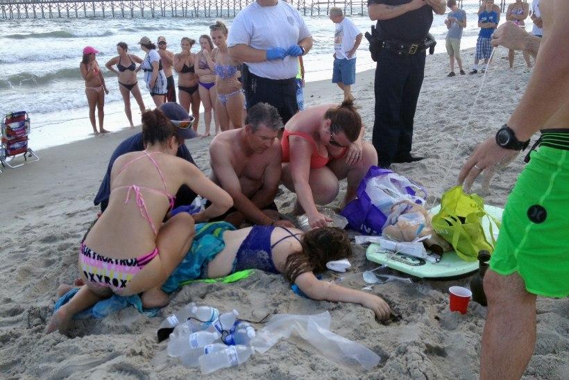 Haid ründasid USAs noori ujujaid