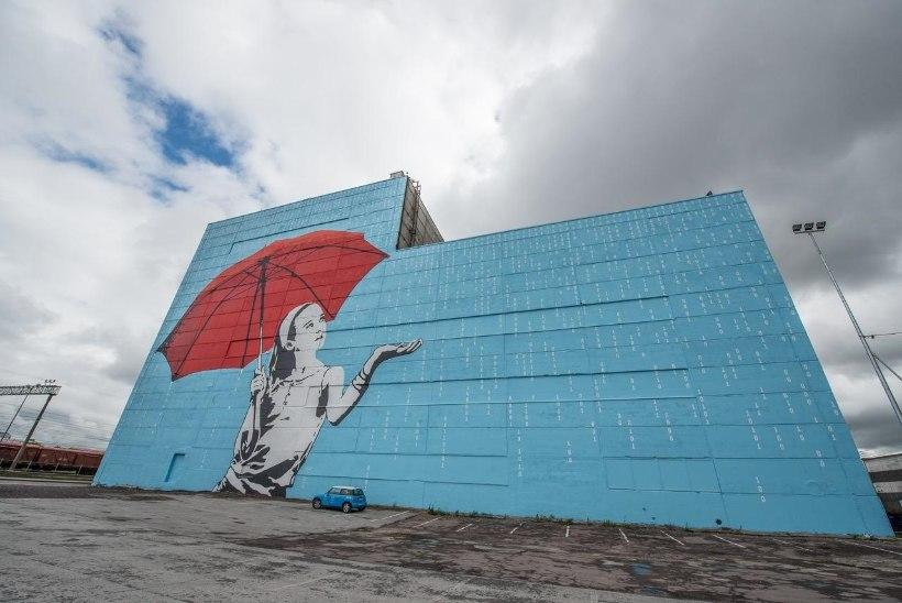 Ülemiste Citys valmis Baltimaade suurim seinamaaling