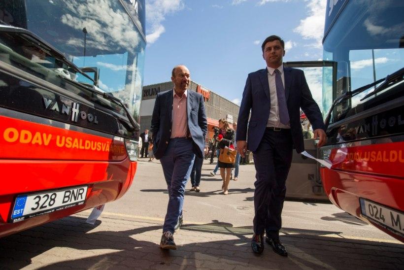 GALERII | Hinnasõda bussiturul: Šoti miljardäri firma sõidutab Tartu või Narva kahe euroga