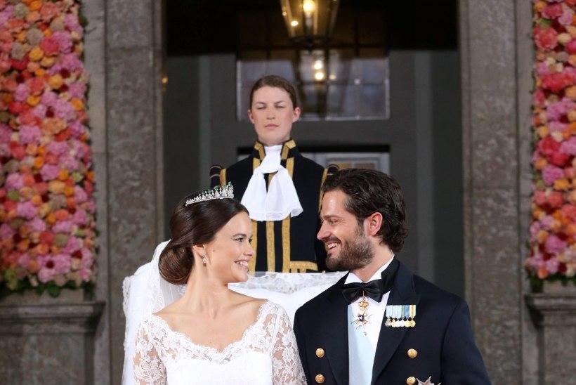 Vastabiellunud Carl Philip ja Sofia sõitsid mesinädalatele