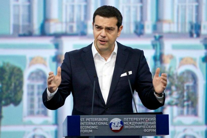 Peaminister Tsipras: Kreeka jääb eurotsooni