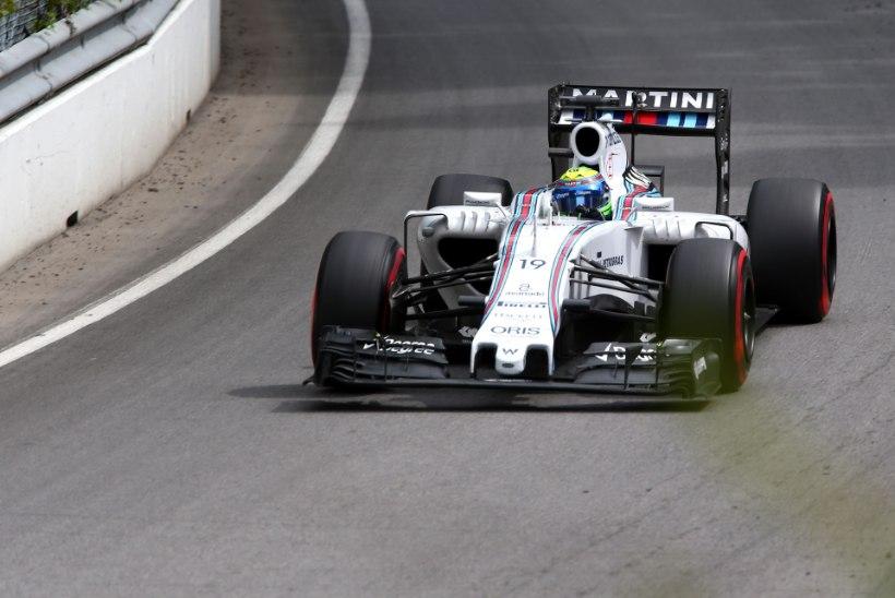 VIDEO | Felipe Massa oleks peaaegu Ferrari bossi alla ajanud, Rosberg Hamiltonist kiirem