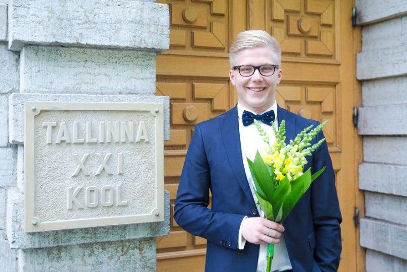 Gümnaasiumi lõpetanud Mikk Mäe tahab minna IT Kolledžisse