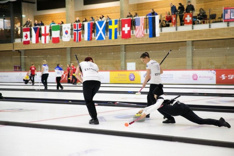 Curling tegi talialadest parimad tulemused, aga EOK toetus on ümmargune null*. Miks?