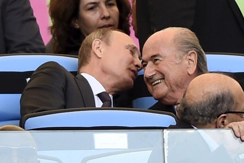 Putin: Venemaa sai 2018 aasta jalgpalli MMi ausalt!