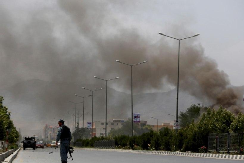 FOTOD | Taliban ründas Afganistani parlamendihoonet