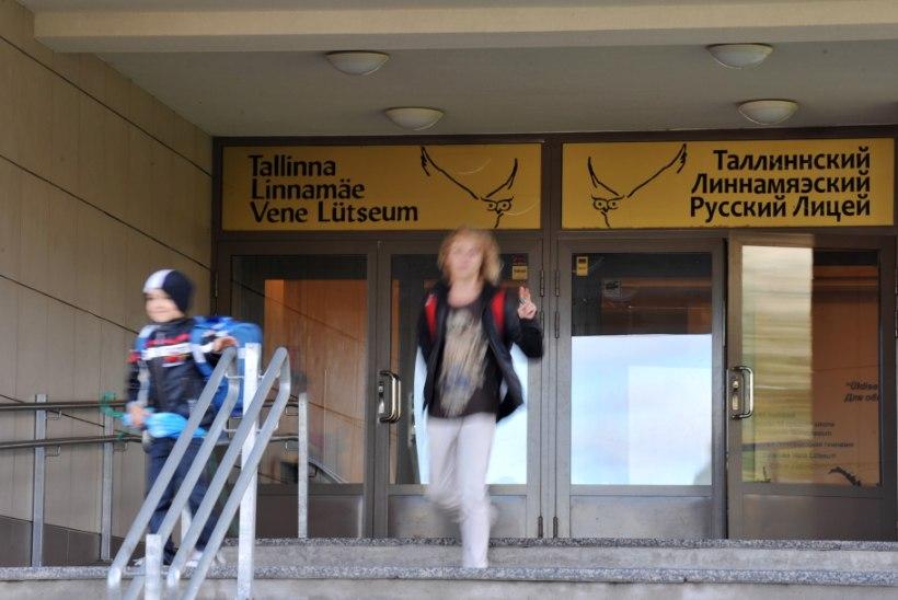 Tallinna gümnaasiumid tahavad venekeelset õpet, eelnõu seda ei luba