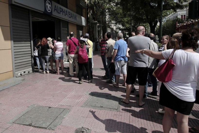 Euroopa Keskpank jätkab Kreeka pankade toetamist
