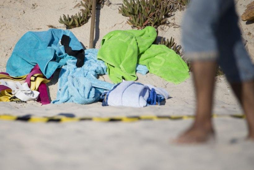 MÕRVAR LIIVARANNAL: kaadrid Tuneesias veresauna korraldanud terroristist relvaga rannas