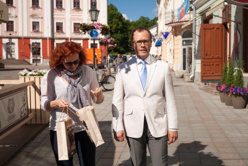 GALERII   Tartu linna päev algas hommikukohviga koos linnapeaga