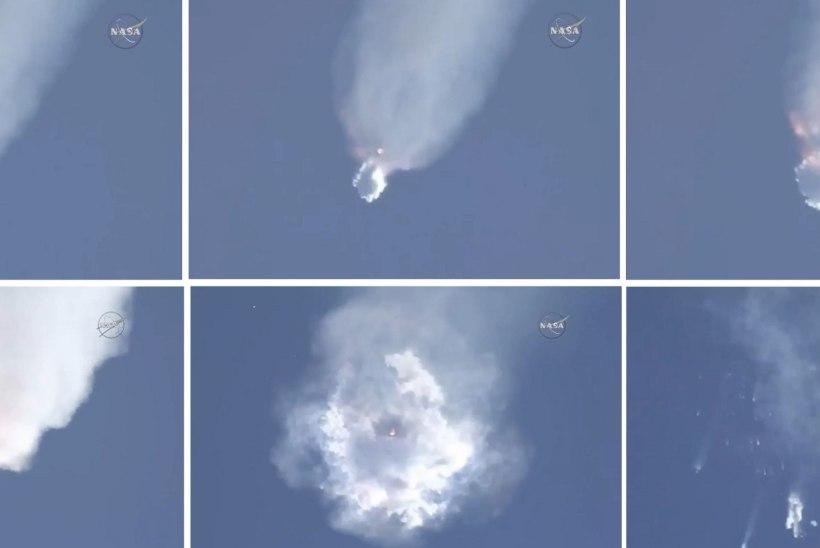 Pühapäevase SpaceXi  kanderaketi plahvatuse võis tekitada katkine hapnikumahuti