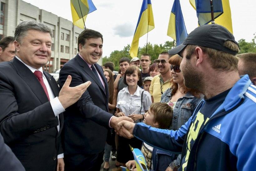 Saakašvili: süüaluse staatus sunnib mind elama välismaal