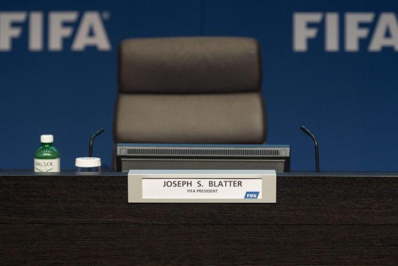 Lahkumisteade algatas Sepp Blatteri presidentuuri kõige tähtsama perioodi