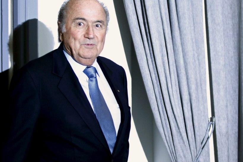 USA MEEDIA: eile end FIFA presidendi kohalt taandanud Blatter on FBI uurimise all