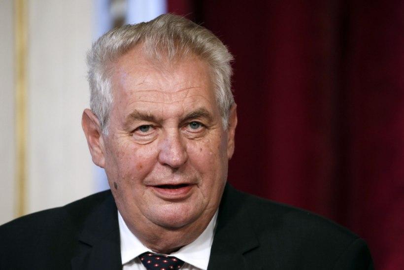 Tšehhi president: migrantide vastuvõtt soosib Islamiriiki