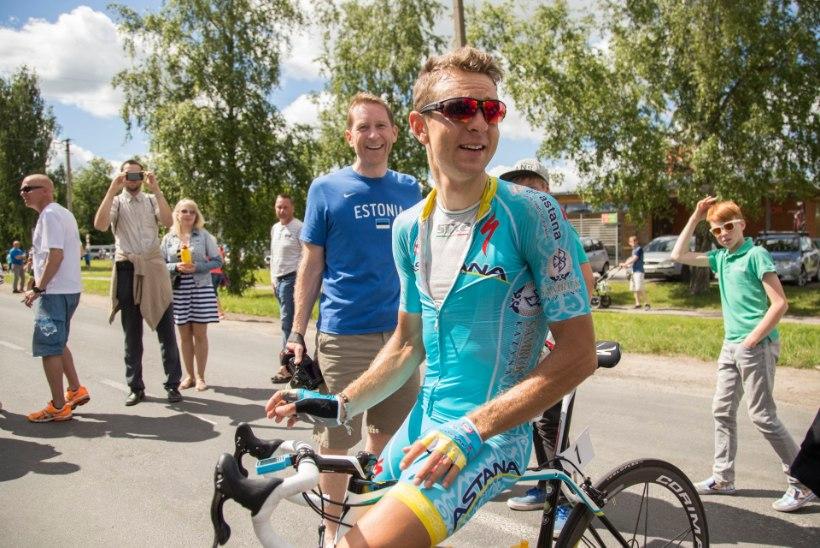Vändra mehed Kangert ja Taaramäe ühise eesmärgi nimel Tour de France'ile