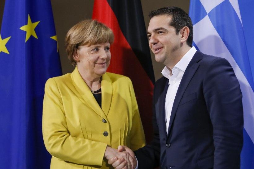 BILD: Merkel soovib Kreekat päästa