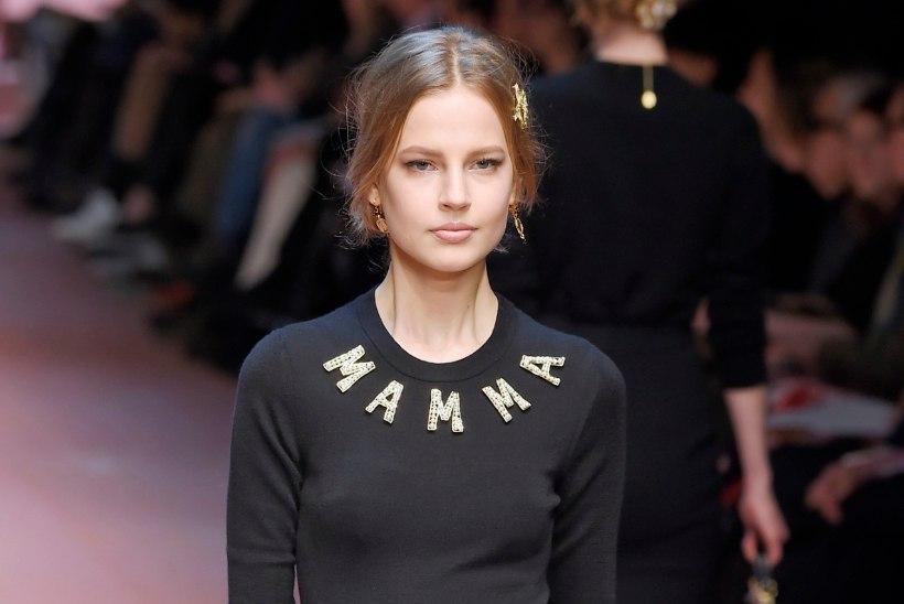 PILTUUDIS   Eesti modell Elisabeth Erm prantsuse glamuuriajakirja esikaanel