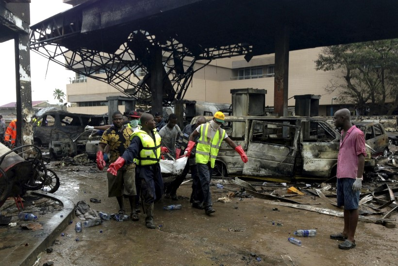 Tanklapõlengus hukkus 175 inimest