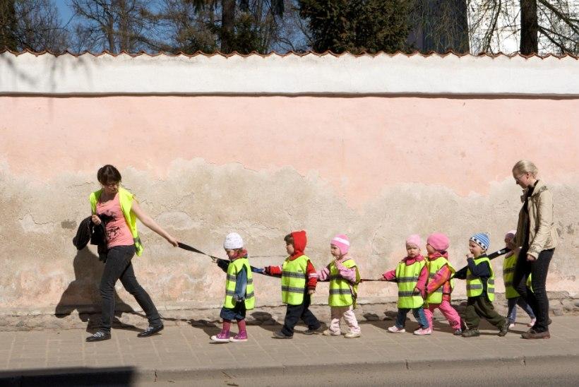 ALLKIRJAD PABERIHUNTI: lasteaed hävitas õiglase palga nõudmisele antud allkirjad?