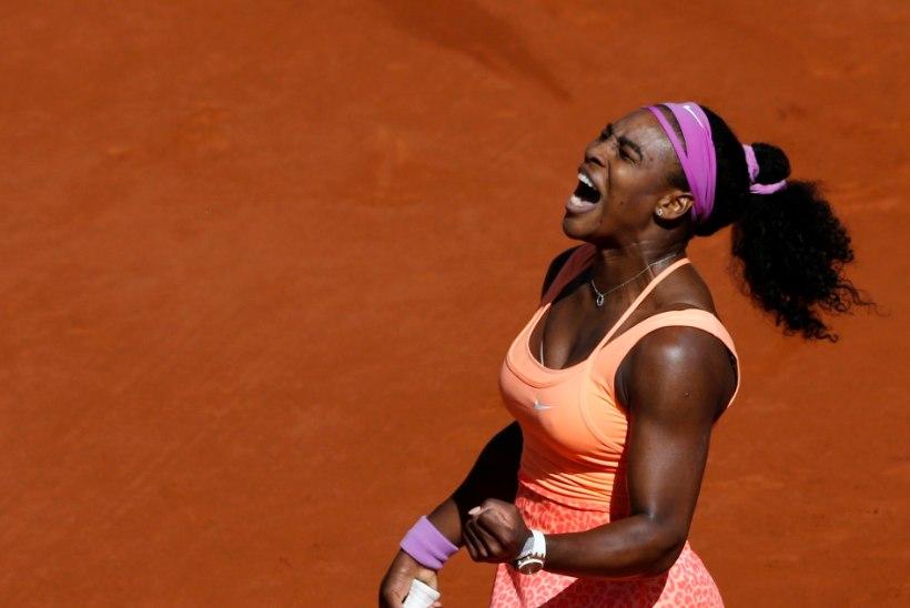 GALERII | Prantsuste lahtiste tšempion Serena Williams astus ajaloolisele saavutusele sammu võrra lähemale