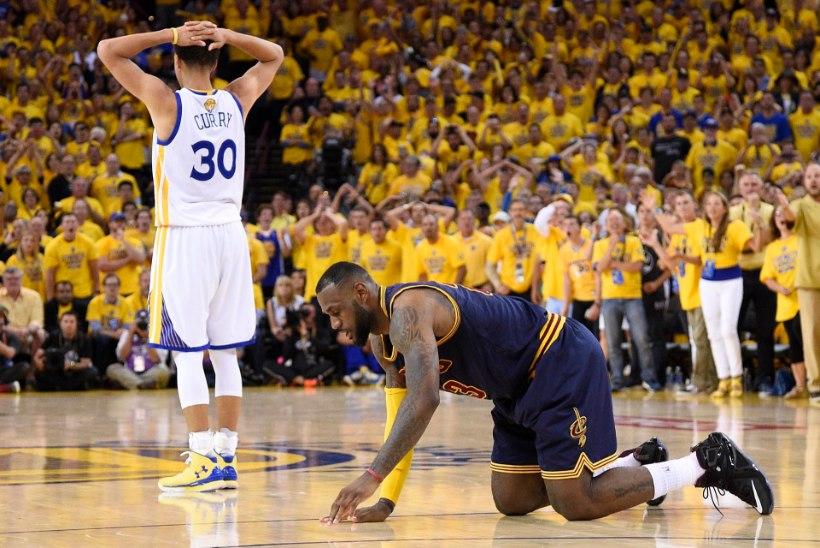 Favoriidid ja liiga parim mängija kirjutasid ümber NBA negatiivsed rekordid